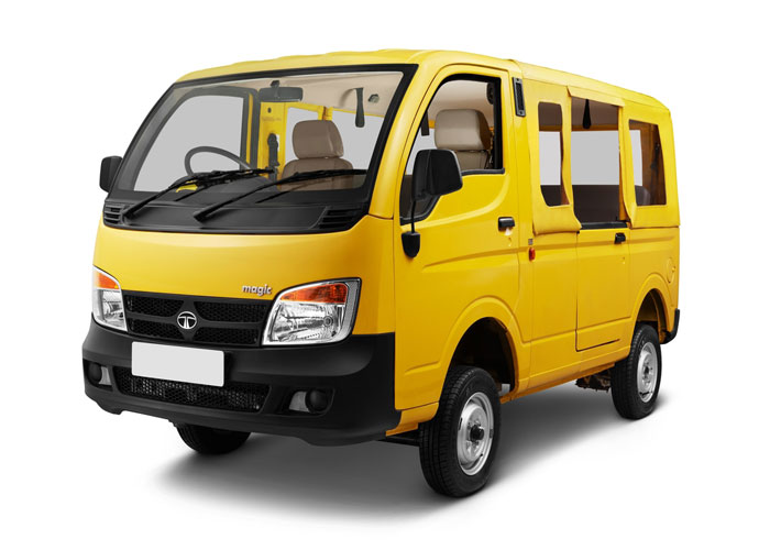 Tata magic public transport vehicle passenger vehicle for Stock price of tata motors