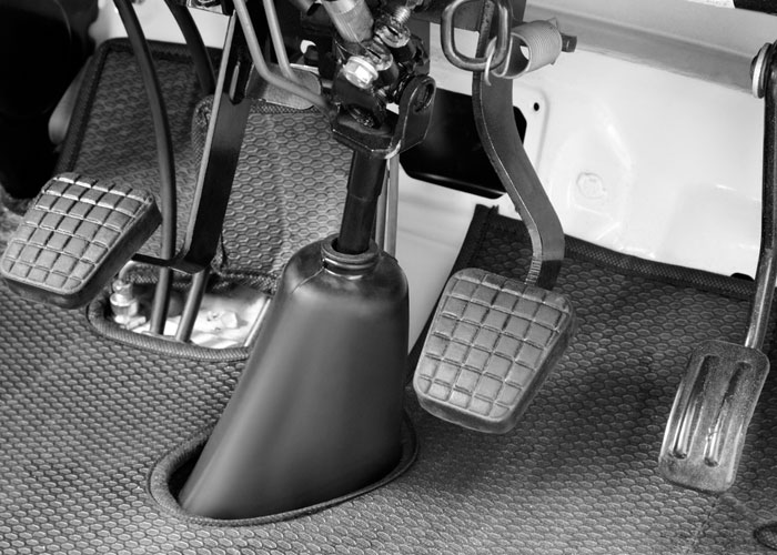 Foot Operated Accelerator, Brake & Clutch