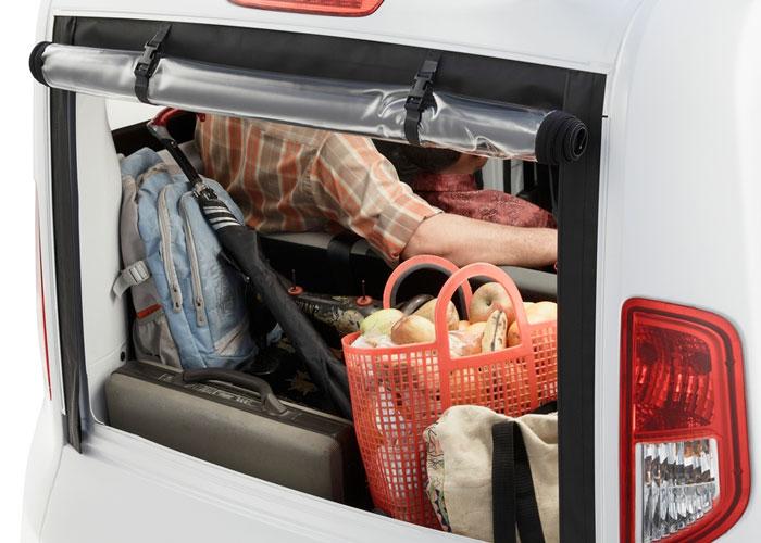 Spacious Luggage Area