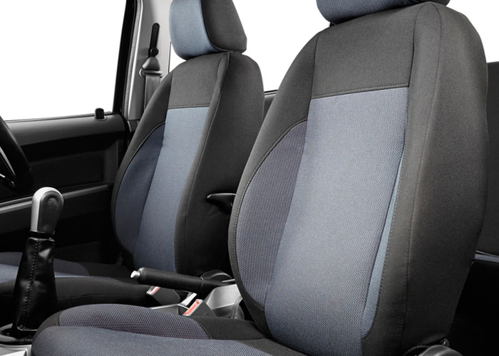Bucket Seats With Headrest And Lumbar Support