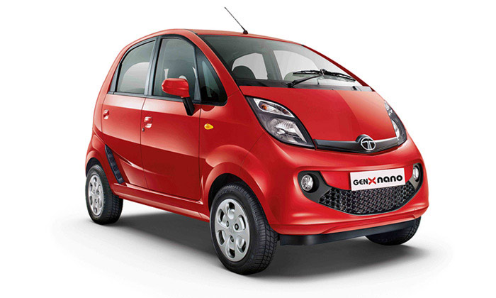 Tata Genx Nano Fuel Efficient Petrol Cars In India