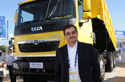 Tata Motors showcases four new construction vehicles at EXCON 2015