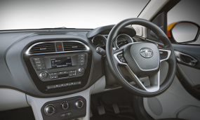 Tata Zica with Stylish Steering Mounted Control