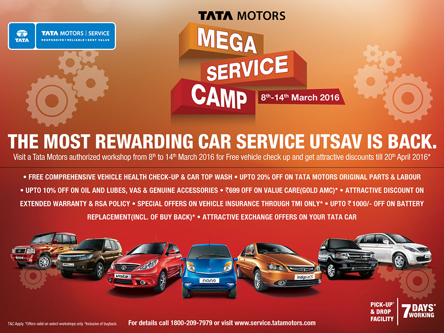 Tata Motors To Roll Out Fourth Edition Of Mega Service