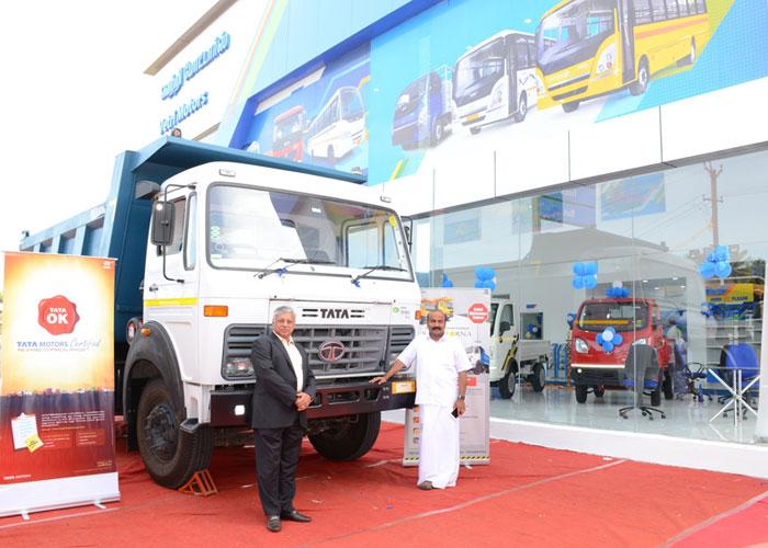 Tata Motors and Vetri Motors open new 3S commercial vehicle facility in Madurai-2
