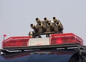 1 no Multitube Teargas launcher