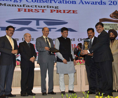 First Prize National Energy Conservation Award