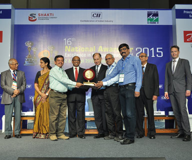 CII Energy Efficient Unit Award 2015