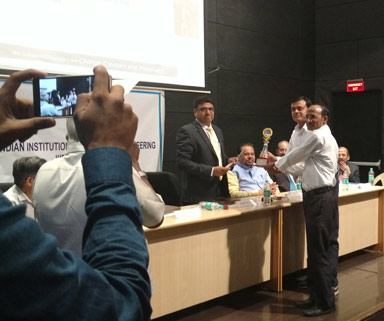 ERC Purchase Team – 1st Prize in in Productivity Case Study Contest organized by IIIE in Medium Scale Corporate category