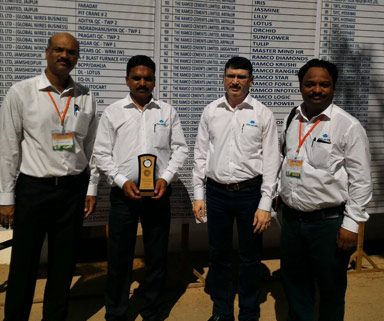 Excellent Category Award at National Convention Chapter to Team Lakshya from ERC Proto Planning & Manufaturing Group
