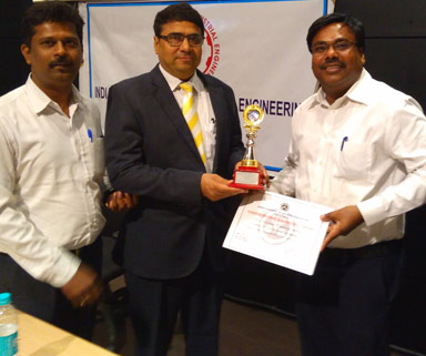 Low Cost Automation Team – 3rd Prize in Productivity Case Study Contest organized by IIIE in Large Scale Corporate category