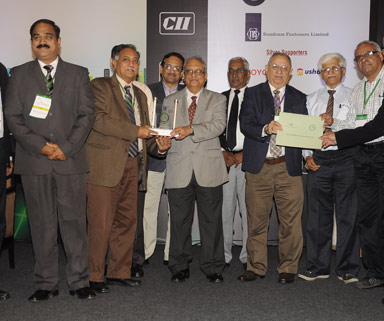 CII Green Co Best Practice Award in Life Cycle Assessment
