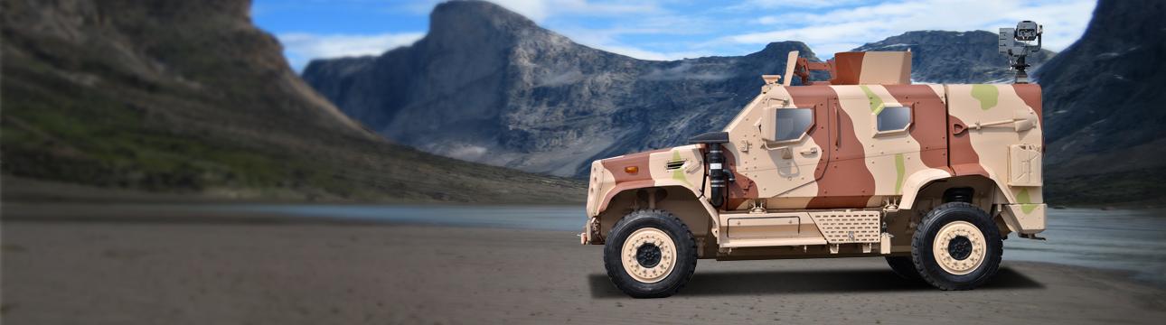 Defence Combat Light Armored Multi Role Vehicle (Lamv)