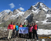A team of Tata Motors' Mountaineers successfully scale hazardous Mt. Indrasan (6221 metres)