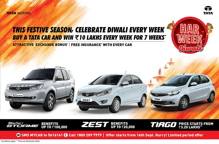 Tata Motors Spreads Festive Cheer Introduces Har Week Diwali A