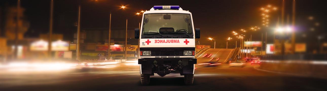 Defence Aid & Development LPTA 715 4×4 Field Ambulance