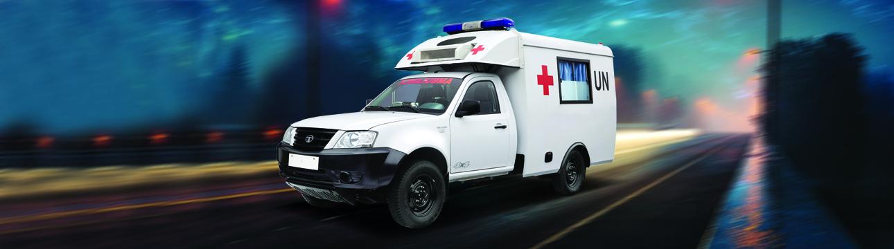 Defence Aid & Development Xenon 4×4 Field Ambulance