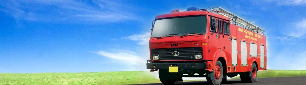 Defence Fire Tender LPT 1615
