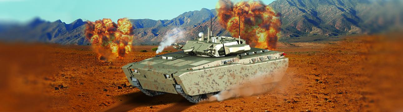 Defence Futuristic Infantry Combat Vehicle (FICV)