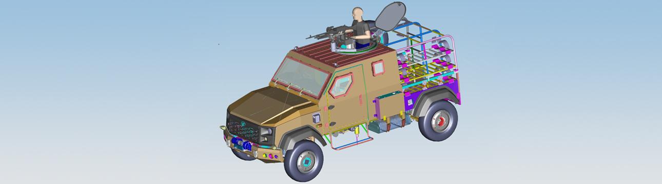Defence Light Support Vehicle (LSuV)