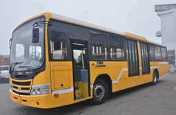 Tata Motors commences delivery of new AC buses, with Automatic Transmission in Amritsar, for new BRTS operations