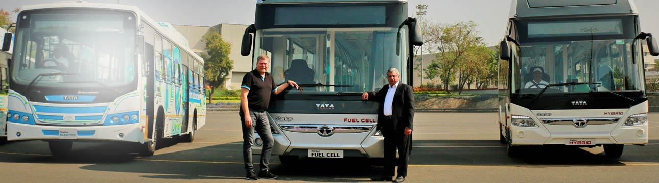 Media Slider 27 Tata Hybrid &  Electric buses Banner