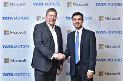 Tata Motors and Microsoft India collaborate to redefine the connected experience for automobile users