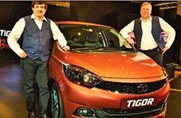Tata Motors Hope to Roar with TIGOR