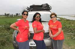 Four adventurous women in a Tata HEXA set on a epic journey to commemorate 70 years of Independent India