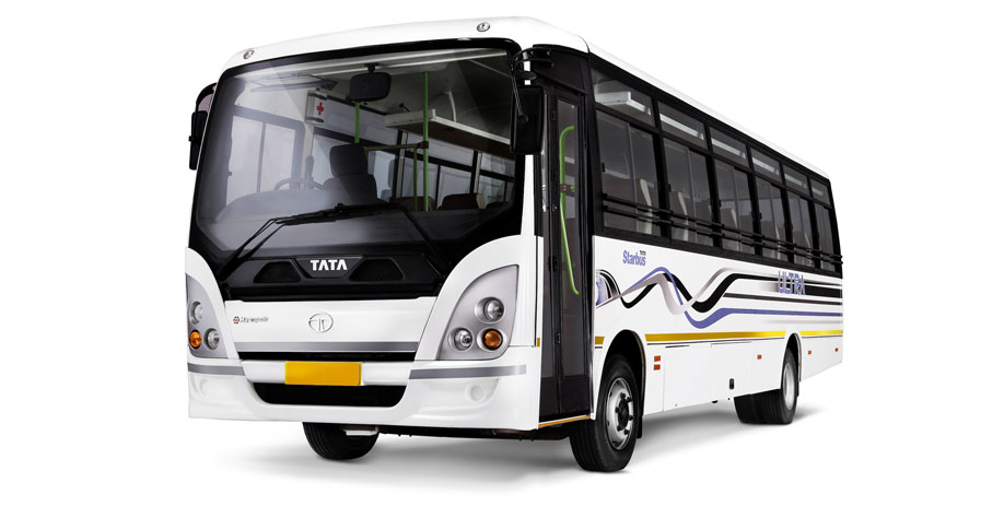 Tata motors launches amt buses tata motors limited for Stock price of tata motors