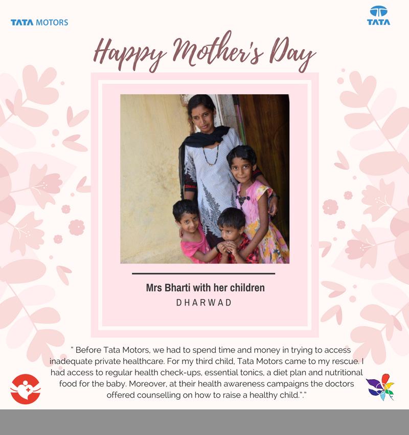 Tata Motors, Women, CSR, Mother's Day