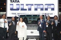 Tata Motors unveils its new range of light trucks – ULTRA -the Business Utility Vehicle at Futuroad Expo 2017, South Africa