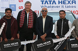 Tata Motors launches Hexa in Nepal