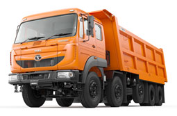 Tata Motors to launch country's first Heavy Duty Tipper Range with ULTIMAAX™ suspension at EXCON 2017