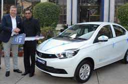 Tata Motors delivers first batch of the Tigor Electric Vehicles to EESL Celebrates National Energy Conservation Day