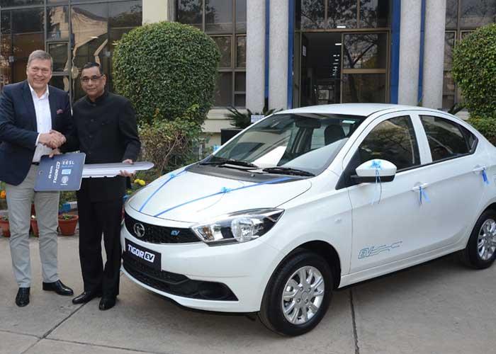 Tigor Electric Vehicles to EESL