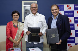Tata Motors enters into a long term partnership with  Symbiosis International (Deemed University), Pune, India