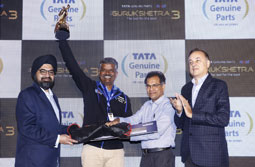 Automotive Mechanics test their skills at the 3rd edition of 'Gurukshetra' organized by Tata Genuine Parts